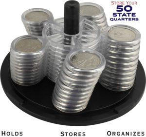 Coin Carousel 50 State Quarter Collection