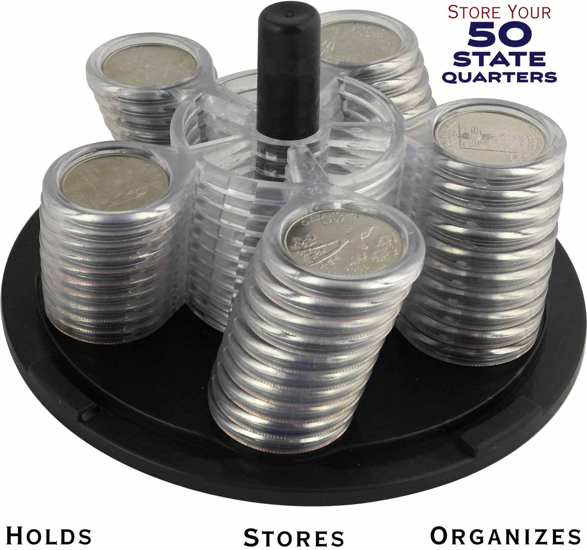 Coin Carousel_50 State Quarters
