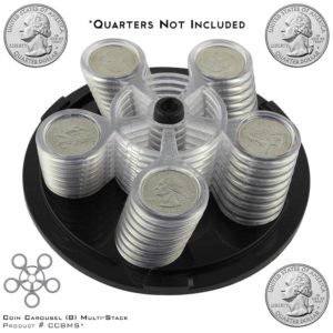 CoinCarousel_Product #CC8MS with Quarters