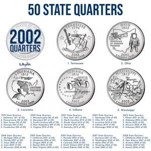 2002 State Quarter Coin Carousel